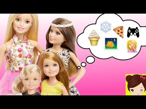 Historias de Barbie y Sus Hermanas - Pijamada, en la Nieve, Campamento, Fiesta Recopilacion
