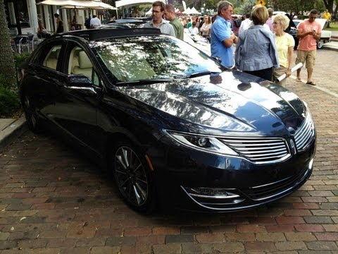2013 Lincoln MKZ Quick Look & 1962 Lincoln Continental Retracting Top