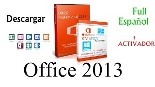 Descargar Office 2013 Full Español Para Windows (XP-7-8