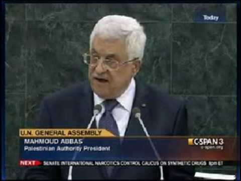 Mahmoud Abbas - UN General Assembly - 9-26-13