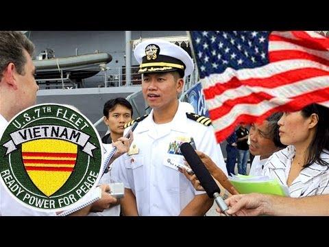 Hạm Đội 7 Hải Quân Mỹ hợp tác với Vietnam chống Tàu Cộng xâm lược
