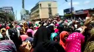 ጀግኖቹ ሴቶቻችን አሚን አሚን the Peaceful demo. at Nur Mesjid on 30.05.2014