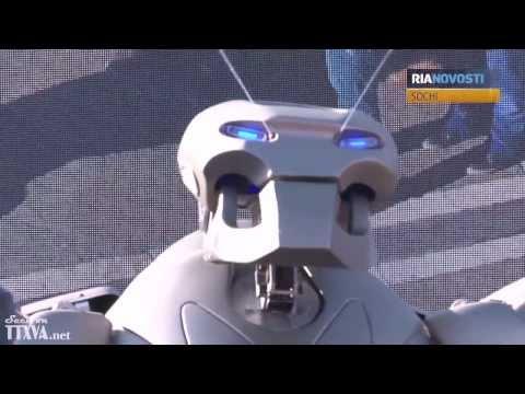 Thế vận hội mùa đông 2014 : Robot nhảy Gangnam Style