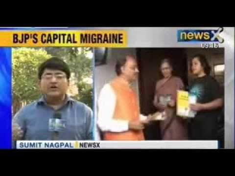 Delhi BJP chief Vijay Goel threatens to step down if not made chief ministrial candidate - NewsX