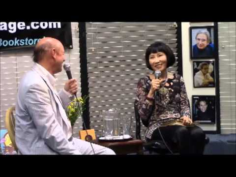 Amy Tan and Don George in Conversation at Book Passage (Corte Madera)