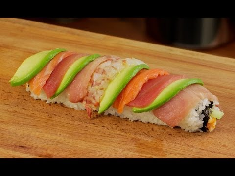 Rainbow Sushi Roll Recipe - Rainbow Foods