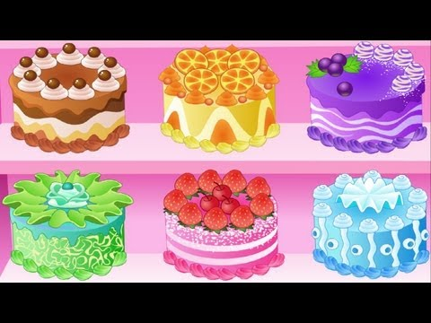 Super Funny Cake Challenge 2015 Cooking Games For little Girl and children Gameplay