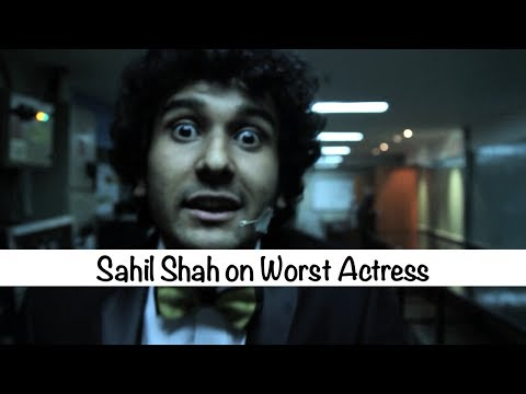 The Ghanta Awards 2014: Sahil Shah on Worst Actress