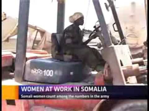 WOMEN AT WORK IN SOMALIA