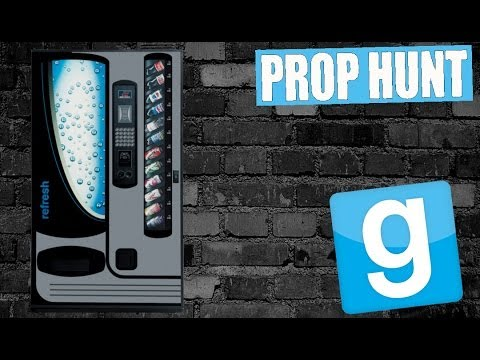 Dlive & Friends Play GMOD Prop Hunt! DOUBLE SODA MACHINES! (14)