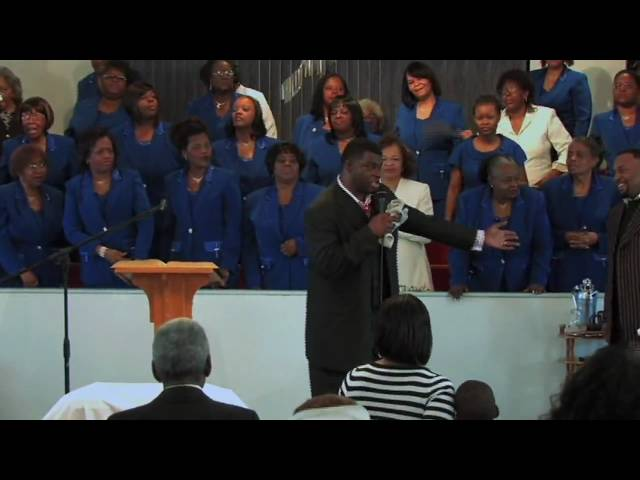 "Bro. Paul Porter sings the gospel hit ""Two Wings"""