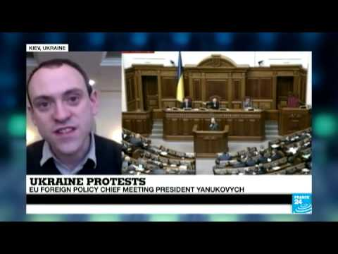 Ukraine: EU foreign policy chief met opposition leaders and President Yanukovych