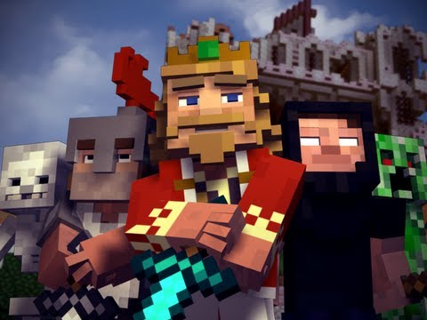 """Fallen Kingdom"" - A Minecraft Parody of Coldplay's Viva la Vida (Music Video), I did not make this video! This is made by CaptianSparklez ! Watch, subscribe to him! He's awsome!"