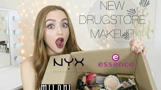 BIG DRUGSTORE MAKEUP HAUL | Brand New Products