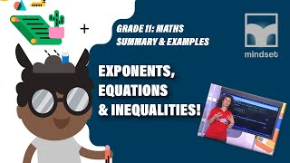 Grade 11 Maths: Exponents, Equations & Inequalities (Live
