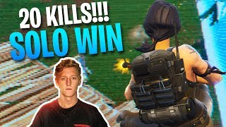 ANTICLIMACTIC BUILD FIGHT! 20 Kill Solo Gameplay (Fortnite Battle Royale)