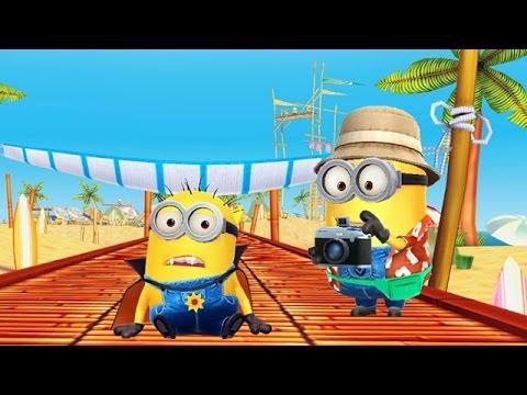Despicable Me 2: Minion Rush Beach Minions Mini Movie 2016