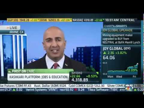 California GOP Gov. Candidate Neel Kashkari on CNBC's Squawk Alley