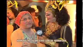 Humoristas falam s�rio em campanha contra a homofobia em BH