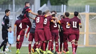 UEFA Youth League 2014-15: Every AS Roma Goal So Far