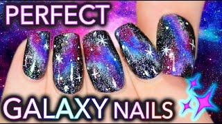 The Fault in Your Galaxy Nails | Get PERFECT DIY Galaxy Nails!