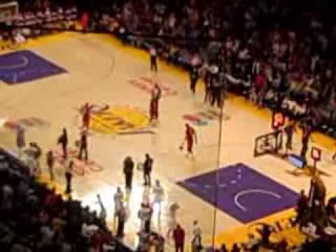 Lakers vs Heat Christmas Day 2013  pt 6