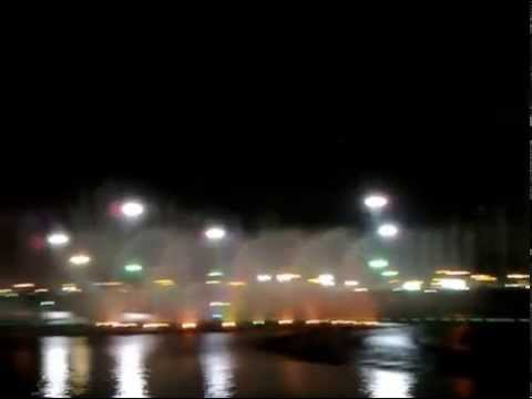 Dancing Fountain at Abdullah Park -Riyadh