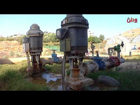من ينقذ مخيم الفوار من المياه الملوثة؟