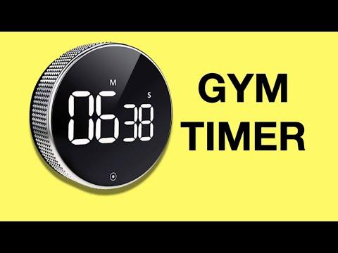 Cheap Gym Timer for CrossFit, Intervals, Home & Garage Gym