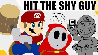 "Mushroom Detection Contraptions in Super Mario Maker or ""Don't be a Shy Guy! """