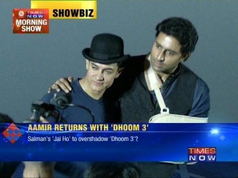 Aamir Khan & Abhishek Bachchan launch 'Dhoom 3'