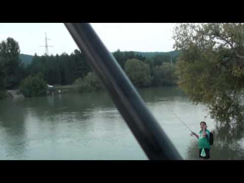 Pescuit oblete  la muste artificiale baraj Bascov 9-08-2014
