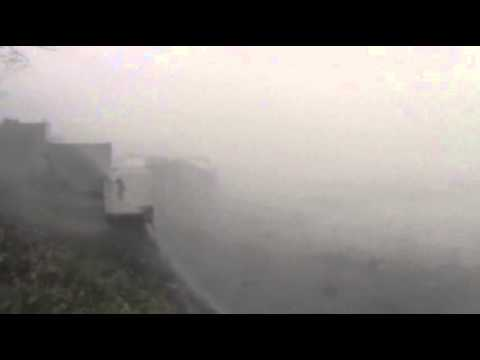 Raw: Dramatic Video of Typhoon in Philippines