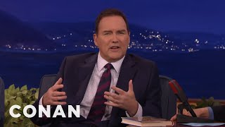 Norm Macdonald Keeps Interrupting His Own Trump Story  - CONAN on TBS