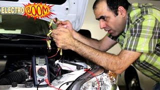 Jump Starting A Car With AA Batteries