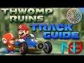 Mario Kart 8: Thwomp Ruins - Track Guide + Analysis