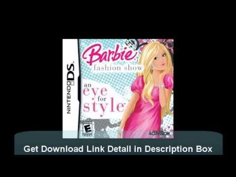 How To Download Barbie Fashion Show An Eye For Style Ds Game Rom Free Youtube