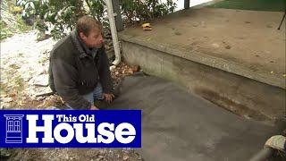 How To Build Granite Porch Stairs This Old House