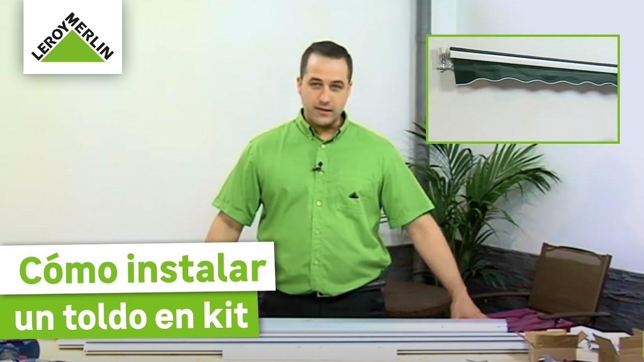 Instalar un toldo en kit leroy merlin youtube - Tela mosquitera leroy merlin ...