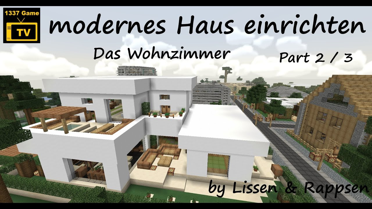 Syunpuu.com = Wohnzimmer Beige Braun Mit Haus Bauen Minecraft ...