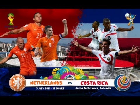 Costa Rica vs Netherlands World Cup 2014 Promo