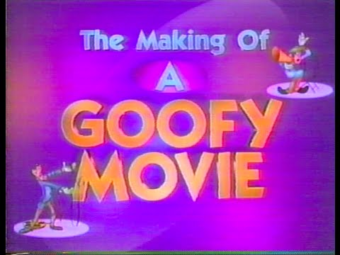 The Making of A Goofy Movie - Disney Channel 1995