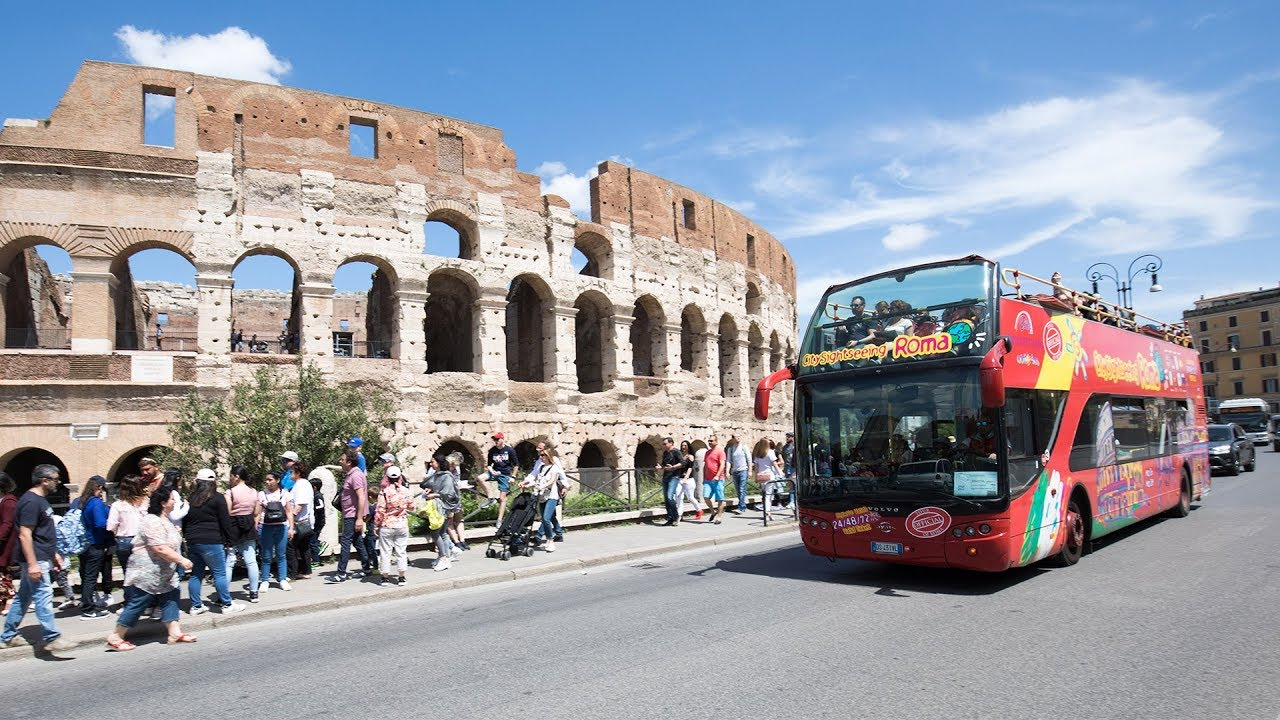Rome Hop-On Hop-Off Sightseeing Tour 2019 on