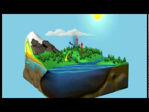 El Ciclo del Agua - (animado y comentado)