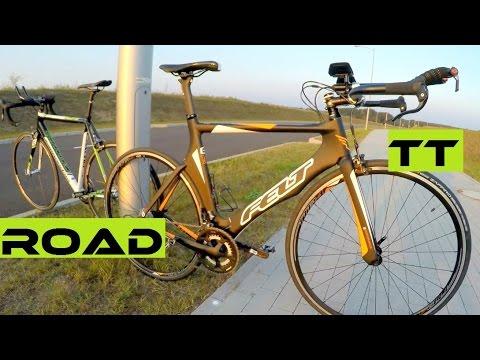 Triathlon Bike vs Road Bike. Features / Geometry Comparison. Felt B16, Cannondale CAAD10