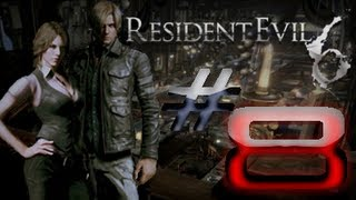 Resident Evil 6 Detonado (Walkthrough) Leon Parte 8 LUTA