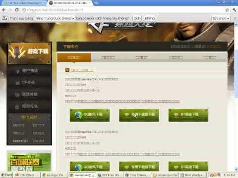 Cách download cf china