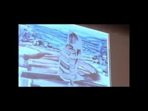 Sandra Krastiņa Inteliģences akadēmijas Mākslas un kultūras moduļa nodarbībās