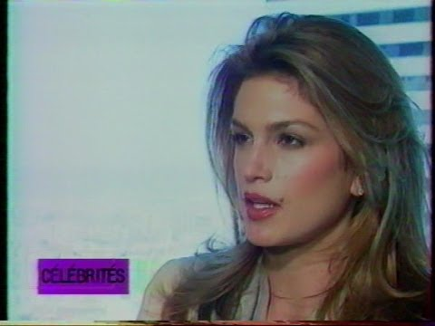 Cindy Crawford on French TV 90's Music : LOLLITA