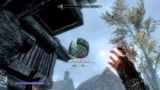 Skyrim: How To Get TELEKINESIS! (Unique Spells #1